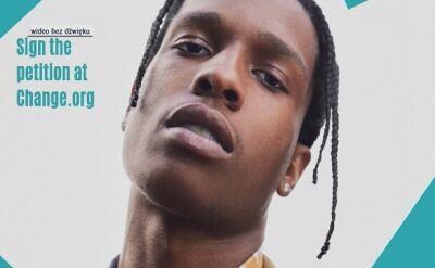 Gwiazdy chcą uwolnienia rapera A$AP Rocky'ego