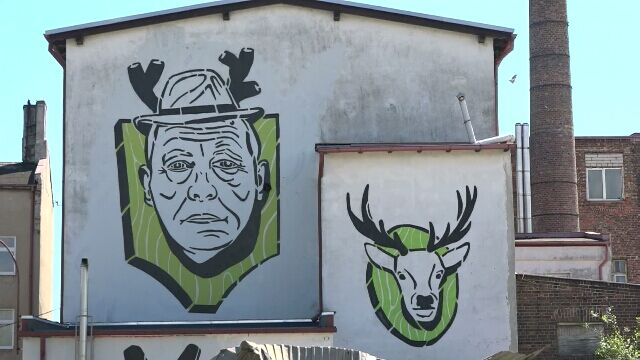 Szyszko bohaterem muralu w Gdańsku (archiwum)
