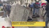 Zamieszanie wokół zabrania pomnika ks. Jankowskiego