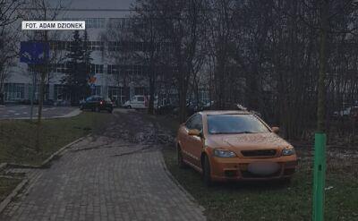 Słupki pomogły zlikwidować dziki parking