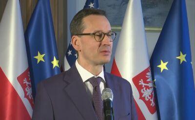 Morawiecki: dziękuje Panu prezydentowi, że stara się pomagać w odnalezieniu rozwiązania tego sporu