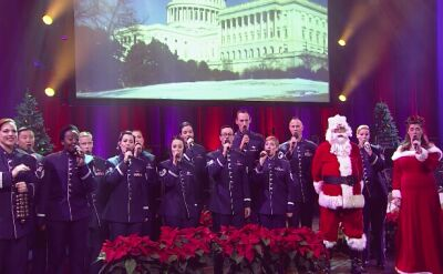 "Polska wersja ""Jingle Bells"" w wykonaniu Singing Sergeants"