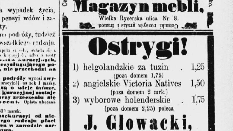 Historyk: ostrygi bardzo długo bywały na polskich stołach wigilijnych