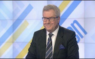 """Cała rozmowa z Ryszardem Czarneckim w """"Jeden na Jeden"""""""