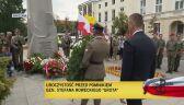 """Uroczystość przed pomnikiem gen. Stefana Roweckiego """"Grota"""""""