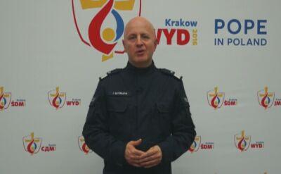 Komendat Główny podziękował policjantom za ŚDM