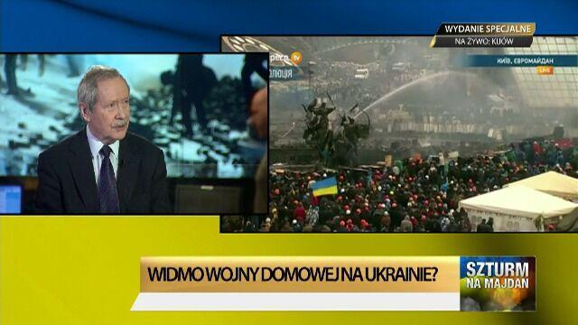 """Zbrojna interwencja w Ukrainie? """"Rosja zobowiązała się chronić mniejszości"""""""