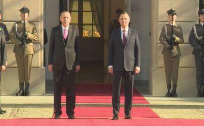 Prezydent Turcji z wizytą w Polsce