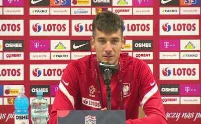 Jakub Moder po meczu z Włochami