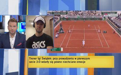 Sierzputowski: dużo czynników musi się nałożyć, żeby wygrać turniej wielkoszlemowy