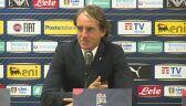 Mancini po meczu z Polską: w drugiej połowie boisko było gorsze