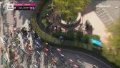 Kraksa Vivianiego z udziałem motocykla na 11. etapie Giro d'Italia