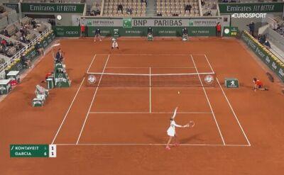 Najlepsze zagrania pań w Roland Garros 2020