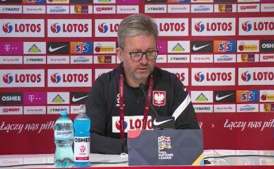 Jerzy Brzęczek przed meczem z Bośnią