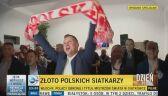 Wielka radość prezydenta po meczu siatkarzy