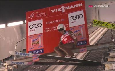 Skok Piotra Żyły w drugim konkursie w Niżnym Tagile