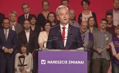 Program partii Biedronia: Odpowiedzialni za naruszenie Konstytucji staną przed Trybunałem Stanu