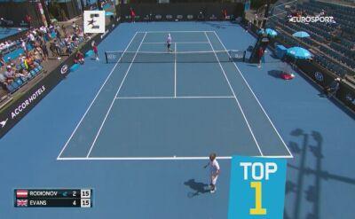 Najlepsze zagrania Australian Open