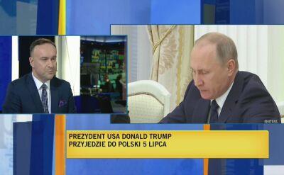 Michał Kobosko o tematach przemówienia Trumpa