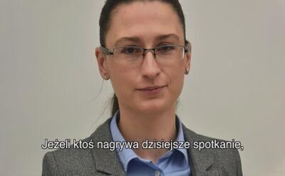 Wiceminister środowiska prosi, by nie nagrywać narady