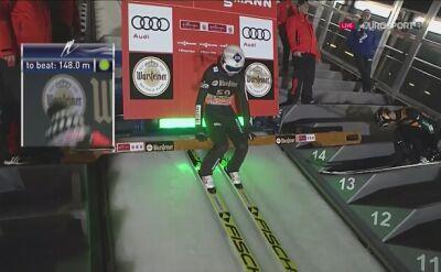 Skok Kamila Stocha w kwalifikacji w Willingen
