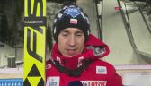 Kamil Stoch o skoczni w Willingen