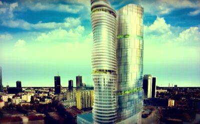 Słynne już wieżowce na Srebrnej