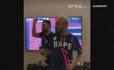 Tak Neymar świętował wygraną PSG