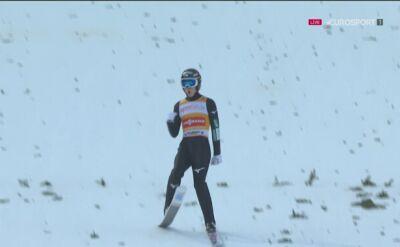 Skok Ryoyu Kobayashiego z 1. serii niedzielnego konkursu w Willingen
