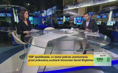 """""""Gazeta Wyborcza"""" o zeznaniach Birgfellnera w prokuraturze. Przegląd prasy"""