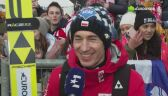 Kamil Stoch po niedzielnym konkursie w Willingen