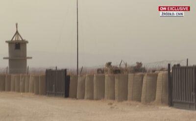 """""""Kurdowie czują, ze zostali wystawieni"""". Wizyta w amerykańskiej bazie w Syrii"""