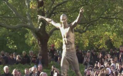 Odsłonięto pomnik Zlatana Ibrahimovicia
