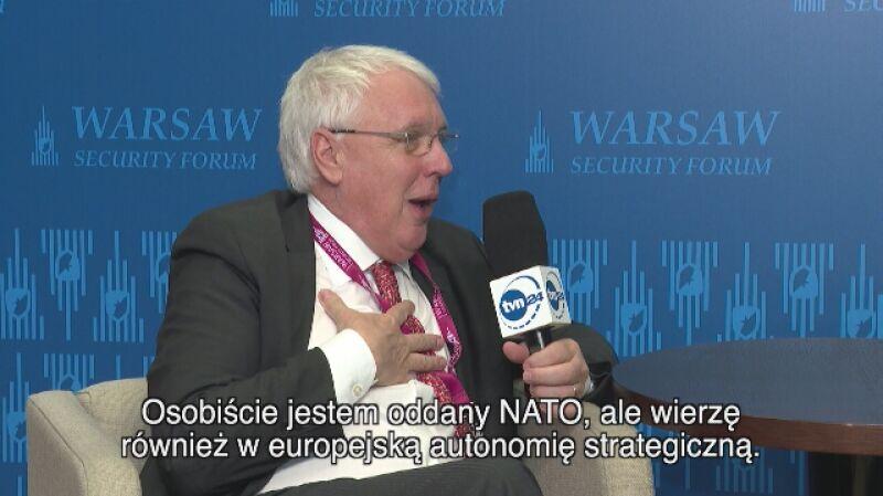 """""""Zastąpienie amerykańskich zdolności w Europie będzie kosztowało Europejczyków 380 miliardów euro"""""""