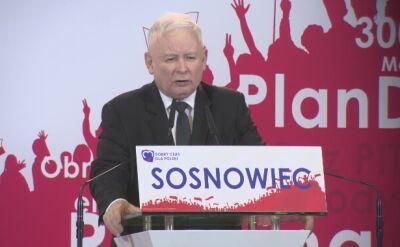 Kaczyński: elity pracujące dla naszych wrogów będą napiętnowane