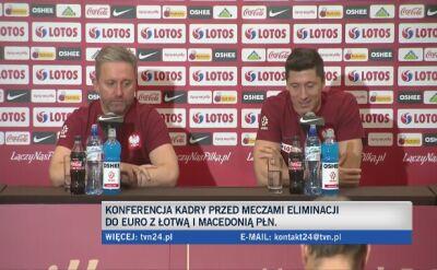 Robert Lewandowski o krytycznym komentowaniu występów kadry