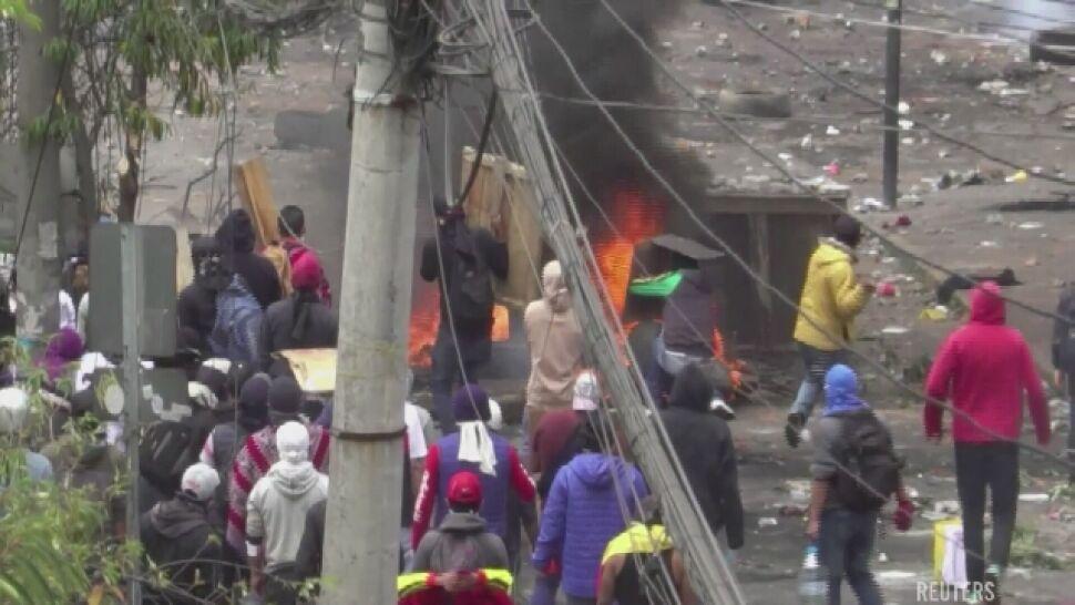 Ekwador pogrąża się w chaosie. Wprowadzono godzinę policyjną