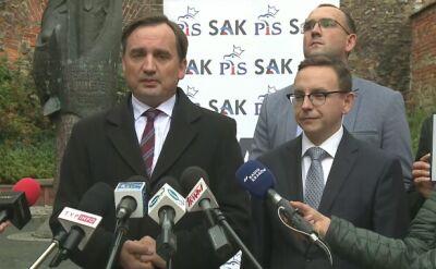 Ziobro: ważne wybory, które zdecydują o kierunku rozwoju Polski