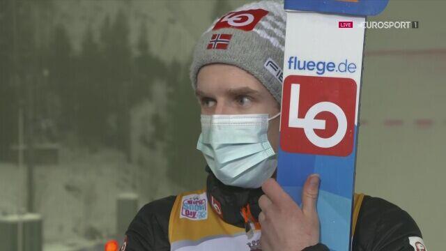 Rozmowa z Halvorem Egnerem Granerudem po konkursie w Lahti w niedzielę