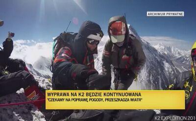 Pod K2 rządzi wiatr