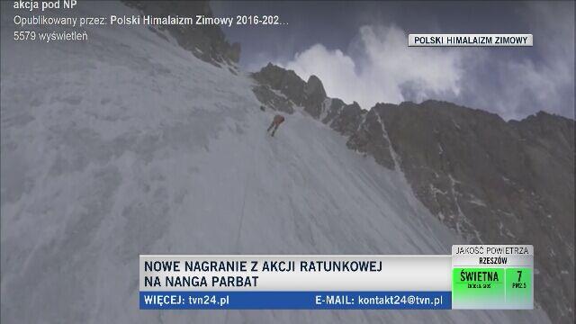 Denis Urubko w trakcie wyprawy na K2