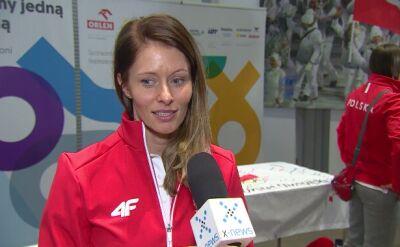 Weronika Nowakowska o olimpijskim ślubowaniu