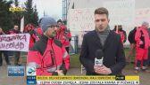Kielce: protest ratowników
