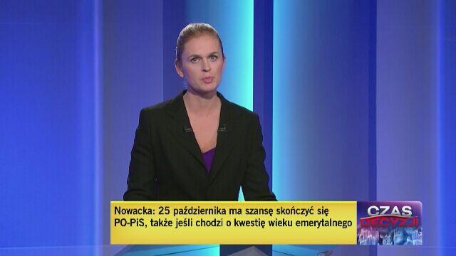 Barbara Nowacka odpowiada na pierwsze pytanie