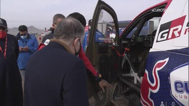 11. etap Dakaru - samochody