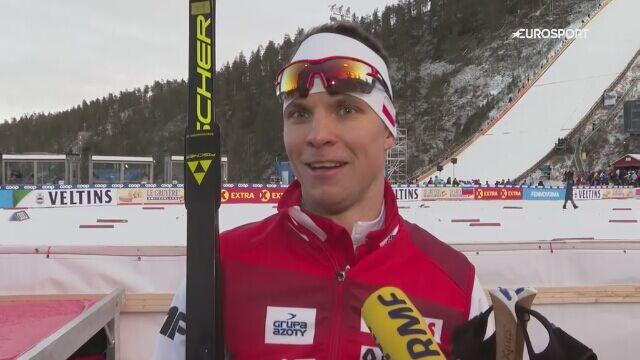 Maciej Staręga po zawodach w Kuusamo