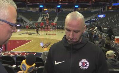 """Gortat o """"Polskiej nocy"""" w NBA"""