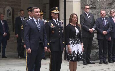 Prezydent Andrzej Duda przybył do West Point