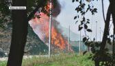 Pożar składowiska w Kędzierzynie-Koźlu