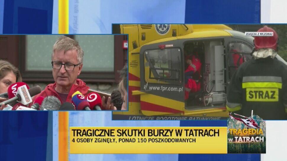 Wszyscy poszukiwani po burzy w Tatrach się odnaleźli
